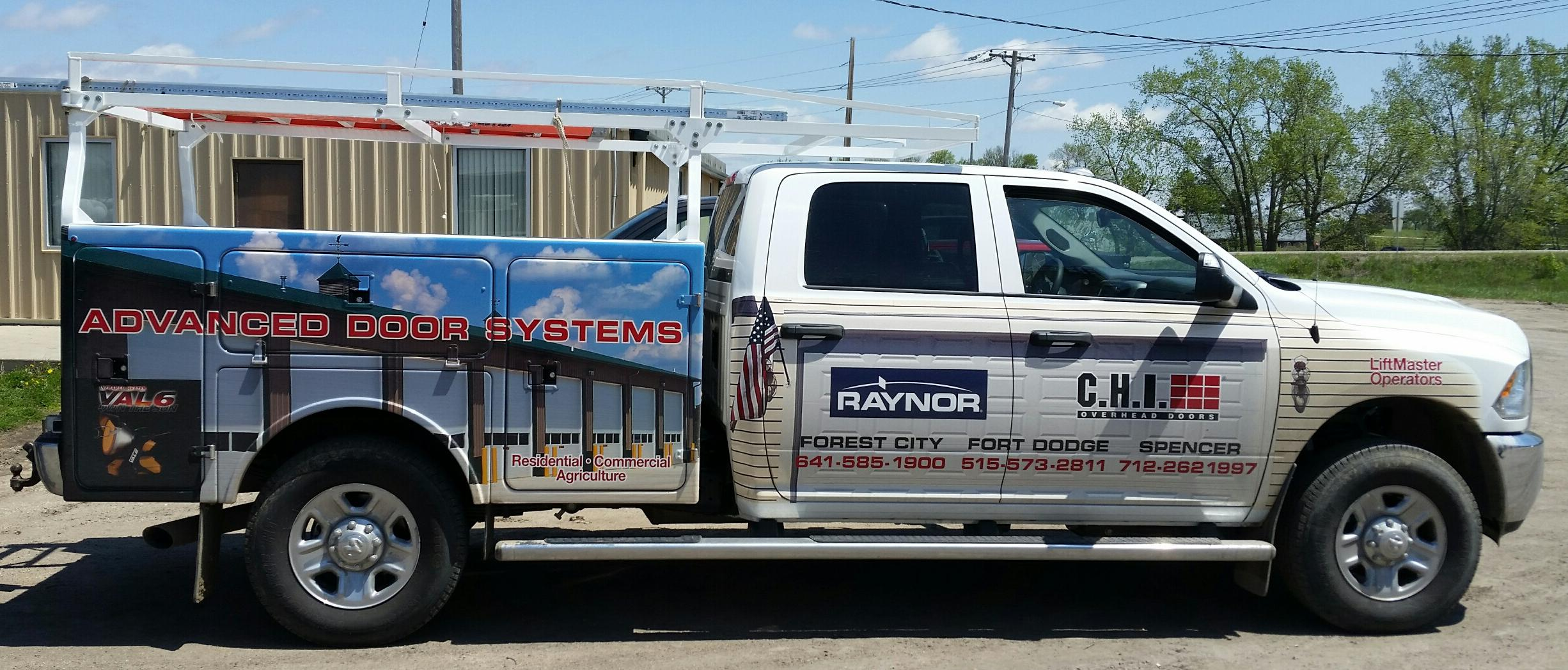 Advanced Door Systems Service Truck