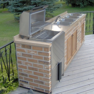 Dakota Grills Built-In Series Model