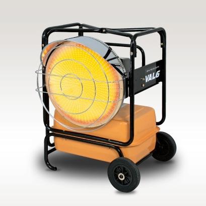 VAL6 KBE5L (2-STEP) Infrared Heater